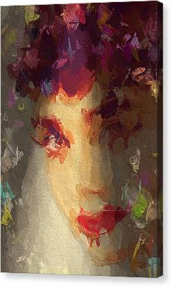 I See Your True Colors Canvas Print