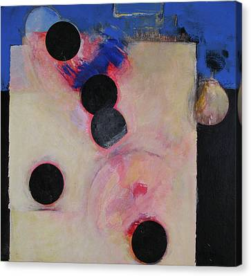 Canvas Print featuring the painting I Smell Chocolate  by Cliff Spohn