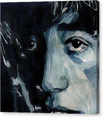 Bees Canvas Print - I Started A Joke by Paul Lovering