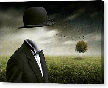 I Think, I'm A Dreamer Canvas Print by Ben Goossens