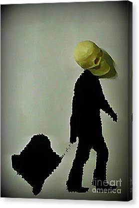 I Travel Light  Don't Need Much Canvas Print by John Malone