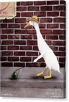 I Walk The Lime... Canvas Print by Will Bullas