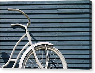 I Want To Ride My Bicycle Canvas Print by Chuck De La Rosa