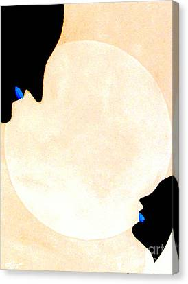 Canvas Print featuring the painting I Will Love You Forever by Bill OConnor