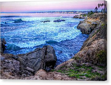 I Will Put You In A Cleft In The Rock Canvas Print by Sharon Soberon