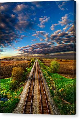 Winter Light Canvas Print - I Will Return by Phil Koch