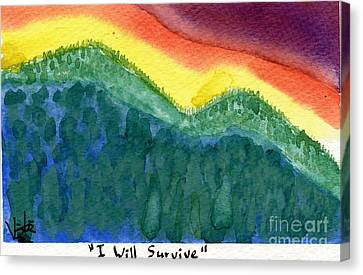 I Will Survive II Canvas Print