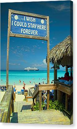 I Wish I Could Stay Here Forever Canvas Print