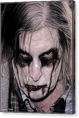 I Zombie Canvas Print by Jon Volden