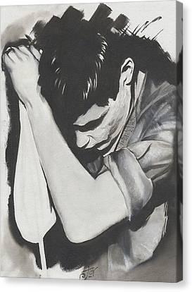 Ian Canvas Print by Alex Rodriguez