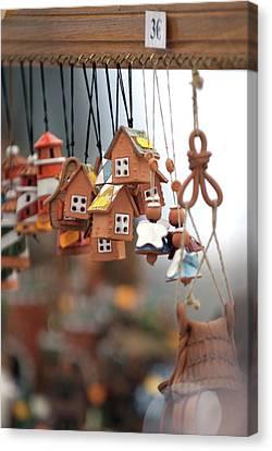Ibiza Medieval Fair 2009 Canvas Print