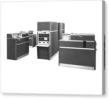 Desktop Canvas Print - Ibm 650 Data Processing System by Underwood Archives