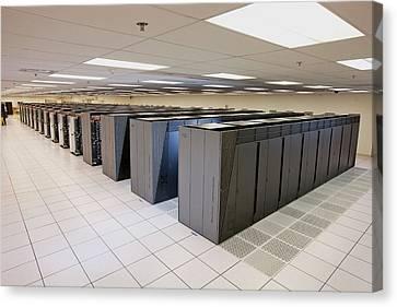 Ibm Sequoia Supercomputer Canvas Print