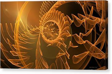 Icarus Canvas Print by Linda Whiteside