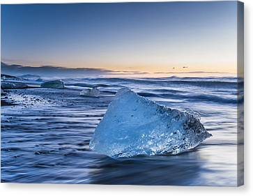 Ice Blue Canvas Print