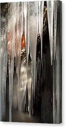 Ice Cave Canvas Print