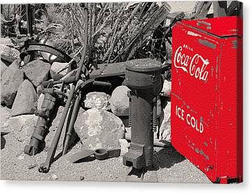 Ice Cold Drink Canvas Print
