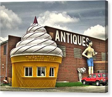 Ice Cream Canvas Print by Jane Linders