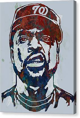 Ice Cube - Stylised Pop Art Sketch Poster Canvas Print