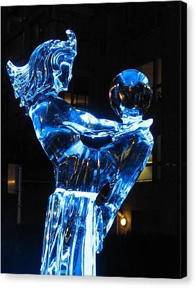 Ice Dancers Canvas Print