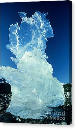 Ice Formation Canvas Print by Art Wolfe