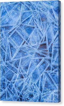 Ice Geometric Canvas Print
