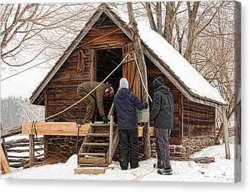 Ice House Canvas Print
