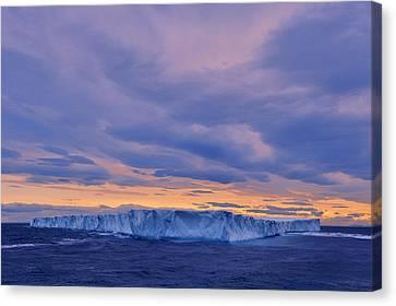 Ice Island Canvas Print