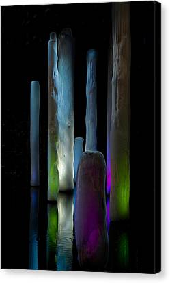 Ice Lighted Canvas Print by Ivete Basso Photography