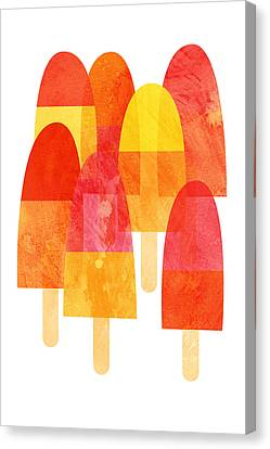 A Hot Summer Day Canvas Print - Ice Lollies by Nic Squirrell
