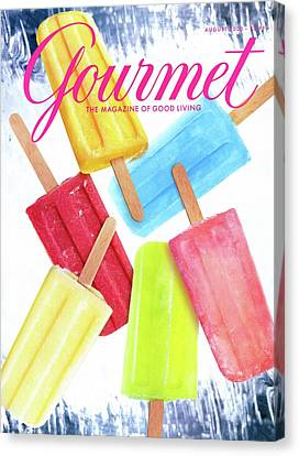 2000 Canvas Print - Ice Pops by Craig Cutler