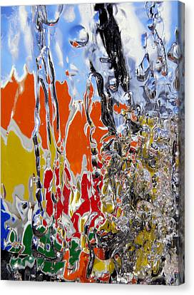 Ice Puzzle Canvas Print