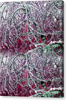 Ice Sculpture 2013 Canvas Print by Laurie Wilcox