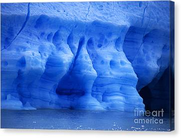 Ice Sculpture Canvas Print by James Brunker