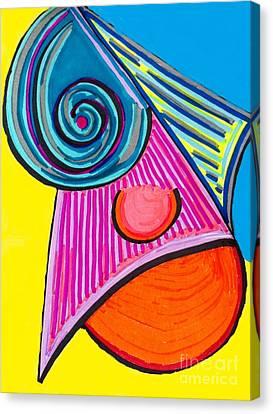 Ice Slice Canvas Print by Joseph Mccullagh