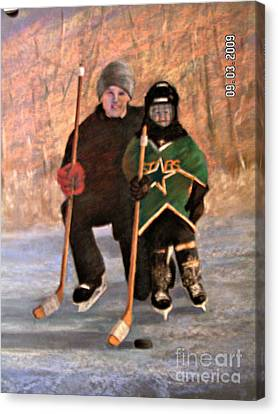 Ice Time Canvas Print by Susan M Fleischer
