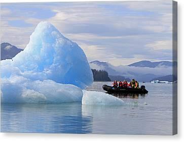 Iceberg Ahead Canvas Print by Shoal Hollingsworth