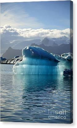 Iceberg Canvas Print by Deborah Benbrook
