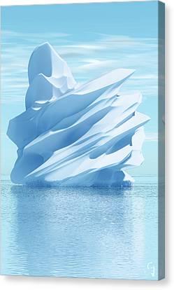 Iceberg Canvas Print by Matt Lindley