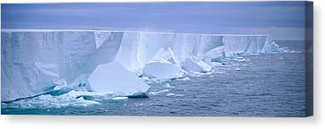 Thaw Canvas Print - Iceberg, Ross Shelf, Antarctica by Panoramic Images