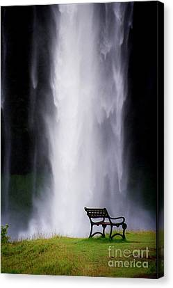Iceland Waterfall Canvas Print by Arie Arik Chen