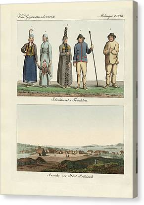 Icelandic Dresses Canvas Print