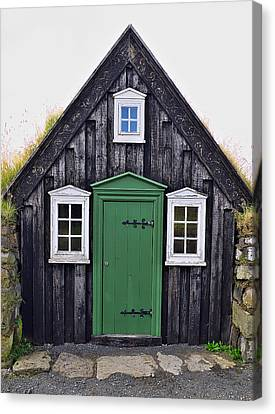 Icelandic Old House Canvas Print