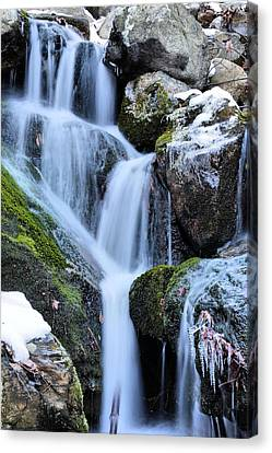 Icicles  Canvas Print by JC Findley