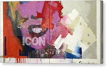 Icon I Canvas Print by Sheila Elsea