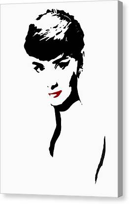 Icon Of Beauty Canvas Print by Steve K