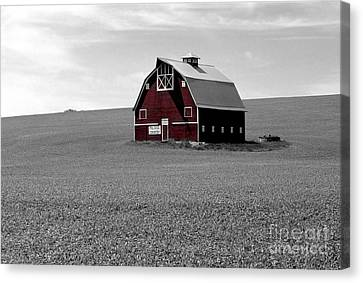 Icon Of The Palouse Canvas Print by Sharon Elliott
