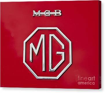 Iconic Mgb Badge Canvas Print