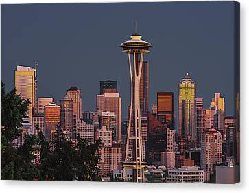 Iconic Needle Canvas Print by Gene Garnace