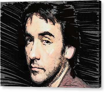 Icons - John Cusack Canvas Print